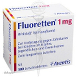 ?nh s? 15: Fluoretten 1mg - Giá: 470.000