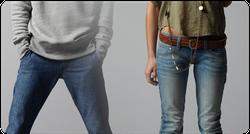 Ảnh số 46: Jeans nam nữ - Giá: 180.000