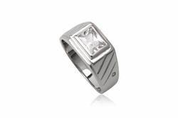 ?nh s? 22: TrangsucLUNA Nhẫn nam đính kim cương nhân tạo xi phủ vàng trắng vàng tây 18k - Giá: 890.000