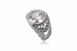 ?nh s? 26: TrangsucLUNA Nhẫn nam đính kim cương nhân tạo xi phủ vàng trắng vàng tây 18k - Giá: 980.000