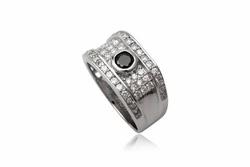 ?nh s? 34: TrangsucLUNA Nhẫn nam đính kim cương nhân tạo xi phủ vàng trắng vàng tây 18k - Giá: 1.280.000