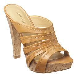 ?nh s? 85: Sandal Nine West: cao 10cm da thật  size 8  giá đặt và giá web đagn là 55$ chưa thuế, ship  thanh lý 1tr3 - Giá: 1.300.000