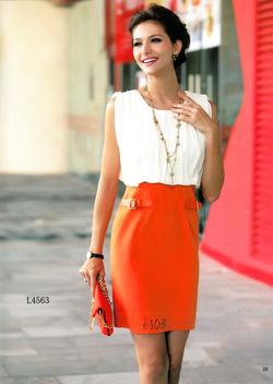 Ảnh số 2: Váy Beauty mark L4563 - Giá: 2.000.000