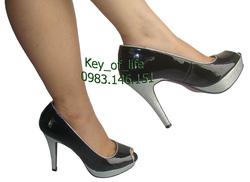 Ảnh số 13: N350: Giày cao gót hở mũi Next - Giá: 350.000