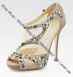 Ảnh số 59: 1tr550 sandal lưới Jimmy CHoo - Giá: 1.550