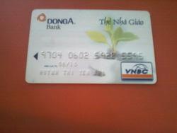 Ảnh số 98: Thẻ ATM - Giá: 200.000.000