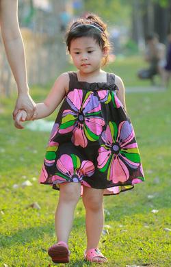 Ảnh số 5: Váy hoa nâu Koko Lee - Giá: 210.000