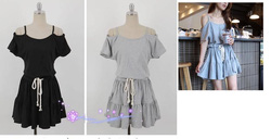 Ảnh số 70: váy cotton xoè - Giá: 240.000