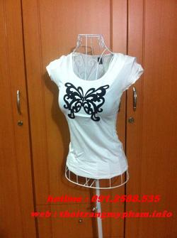 Ảnh số 29: áo phông bướm - Giá: 120.000