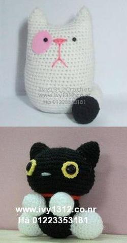 ?nh s? 52: Mèo béo 80K/c-Mèo đen 80k - Giá: 80.000