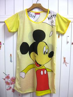 Ảnh số 21: áo ngủ hoạt hình 03 - Giá: 55.000