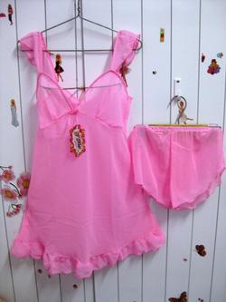 Ảnh số 33: bộ đầm voan hồng - Giá: 55.000