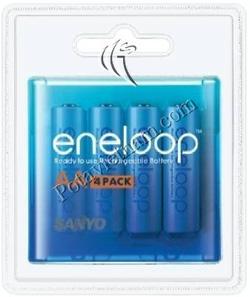 ?nh s? 4: Pin sạc điện, Pin tiểu AA, Pin NiMH, Pin 1.5V, Pin 2000 mAh, Pin sạc SANYO ENELOOP HR3U/4BP (Hộp/ 4 viên pin sạc) - Giá: 424.000
