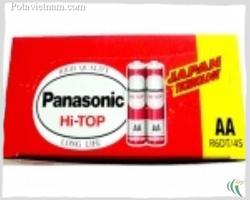 ?nh s? 26: Pin tiểu AA, Pin thông dụng, Pin Carbonzinc, Pin Panasonic heavy duty R6DT/4S - Đỏ (1 Gói/ 4 Viên pin) - Giá: 12.000