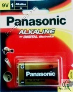 ?nh s? 59: Pin Chữ nhật - Vuông, Pin 9 Volt, Pin Kiềm Alkaline, Pin thông dụng, Pin Panasonic 6LR61T/1B (1 Vỉ/ 1 Viên pin) - Giá: 51.600