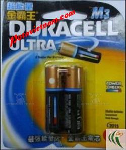 ?nh s? 65: Pin tiểu AA, Pin cao cấp máy ảnh-chụp hình và máy quay, Pin 1.5V, Pin Kiềm Alkaline, Pin DURACELL ULTRA MX1500/B2 (1 Vỉ / 2 viên) - Giá: 40.000