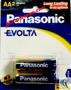 ?nh s? 70: Pin tiểu AA, Pin thông dụng, Pin máy ảnh máy quay, Pin 1.5V, Pin Kiềm Alkaline, Pin PANASONIC EVOLTA LR6EG/2B (1 Vỉ/ 2 viên pin) - Giá: 40.000