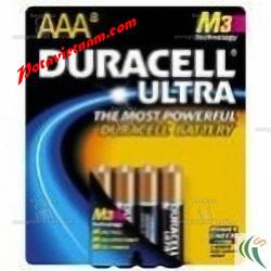 ?nh s? 74: Pin tiểu AA, Pin cao cấp máy ảnh-chụp hình, máy quay, Pin 1.5V, Pin Kiềm Alkaline, Pin Duracell Ultra UMX2400/B4 (1 vỉ/ 4 Viên pin) - Giá: 75.000