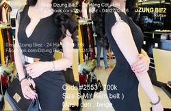 Ảnh số 6: váy nẹp cổ kim loại - Giá: 550.000