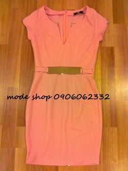 Ảnh số 7: váy nẹp cổ kim loại - Giá: 550.000