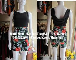 Ảnh số 9: váy cổ đổ sau - Giá: 550.000