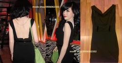 Ảnh số 31: váy hở lưng cổ đổ - Giá: 550.000