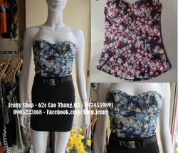 Ảnh số 39: áo corset hoa nhí - Giá: 280.000