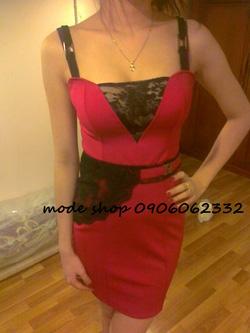 Ảnh số 86: váy fa ren hông - Giá: 280.000