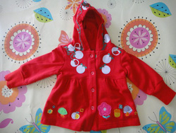 ?nh s? 35: Áo váy sery đỏ Carter\\\s - Giá: 135.000