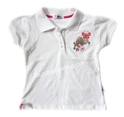 ?nh s? 32: Áo lacoste thêu hoa, size 8->11 tuổi - Giá: 2.000
