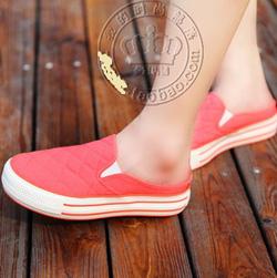 Ảnh số 13: giày lười hồng - Giá: 150.000