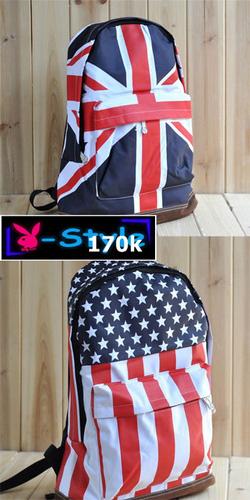 Ảnh số 1: balo cờ anh mĩ - Giá: 170.000