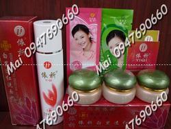 Ảnh số 40: Bộ kem face Hongkong YIQI trắng da trị mụn nám (da trắng mịn sau 7 ngày) - Giá: 570.000