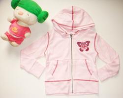 Ảnh số 7: Áo khoát hồng bướm - Giá: 110.000
