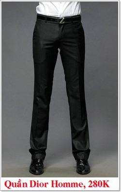 Ảnh số 1: Quần Âu Nam Dior 280K - Giá: 280.000