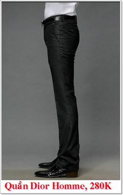 Ảnh số 4: Quần Âu Nam Dior 280K - Giá: 280.000