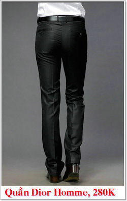 Ảnh số 9: Quần Âu Nam Dior 280K - Giá: 280.000