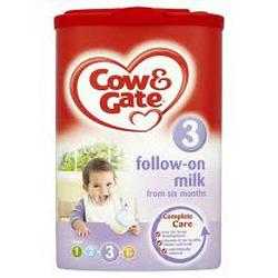 ?nh s? 6: Sữa Cow & Gate số 3 - 900g: Dành cho bé từ 6 - 12 tháng: 430K - Giá: 430.000