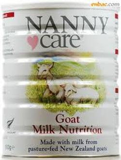 ?nh s? 12: Sữa Dê Nannycare: Dành cho trẻ 0 đến 12 tháng: 400g - Giá: 690.000