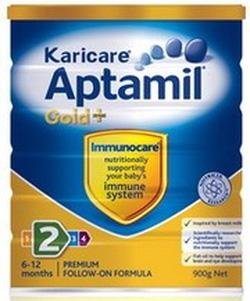 ?nh s? 42: Karicare Aptamil số 2  ( Karicare Aptamil Gold + Follow-On Formula 0 ).( Từ 6- 12 tháng). Giá 535K/hộp 900g - Giá: 535.000
