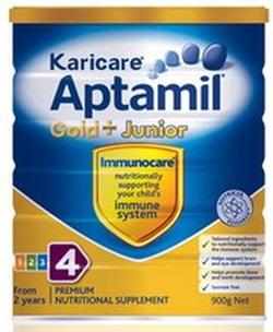 ?nh s? 44: Karicare Aptamil số 4 ( Karicare Gold + Junior). (Từ 2 tuổi trở lên). Giá 440K/hộp 900g - Giá: 440.000