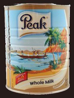 ?nh s? 78: Sữa Peak nguyên kem, cho bé từ 1 tuổi trở lên hoặc trẻ lớn:Giá 400K hộp 400g/800K hộp 900g. - Giá: 400.000