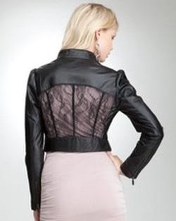 ?nh s? 2: Bebe Leather Lace Jacket - Giá: 4.000.000