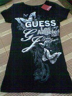 ?nh s? 8: guess jet black a996 T-shirts sz XS - Giá: 1.000.000