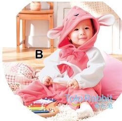 Ảnh số 32: BD505 Body bé gái thỏ hồng 2 nơ xinh xắn cho bé 8-10-12-13 cân (6tháng đến 2,5 tuổi)) - Giá: 200.000
