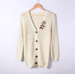 Ảnh số 12: Áo khoác len mỏng,cadigan - Giá: 190.000