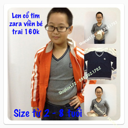 Ảnh số 18: áo len cổ tim viền zara - Giá: 160.000