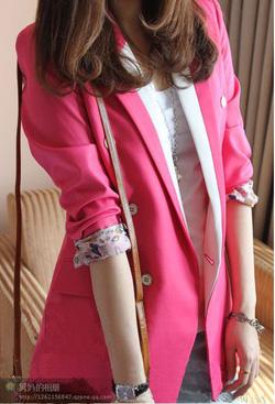 Ảnh số 8: Vest hồng, đang HOT trong thu đông năm nay - Giá: 250.000
