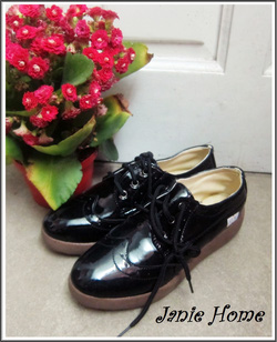 Ảnh số 3: Giày oxford da bóng đen - Giá: 260.000