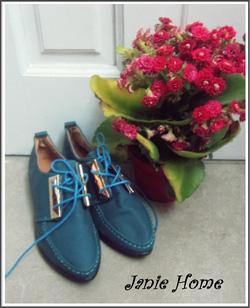 Ảnh số 9: Giày oxford kẹp sắt 3 màu đen, xanh, nâu - Giá: 220.000